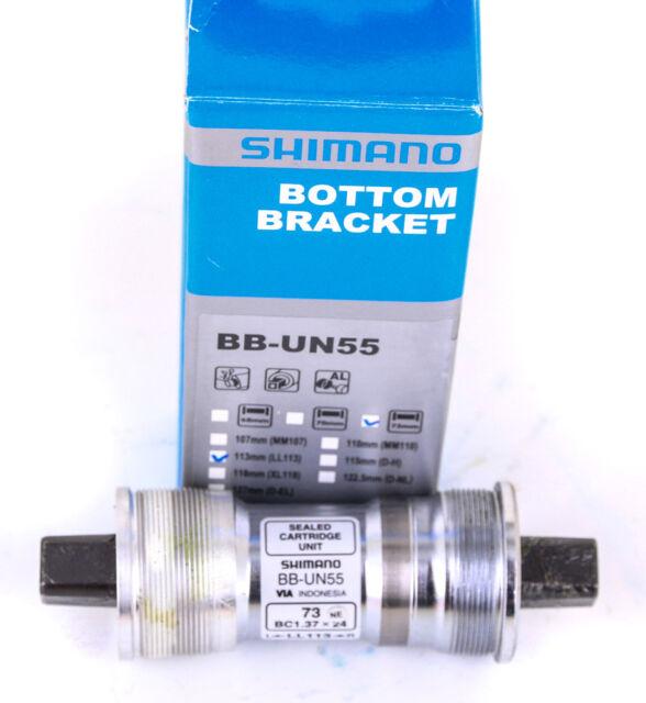 Sunlite Bicycle SL-55 Square Taper JIS Bottom Bracket 68x122mm Sealed Bearings