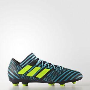 857d71a8a adidas Mens Nemeziz 17.3 FG Cleats (Legend Ink/Solar Yellow/Energy ...
