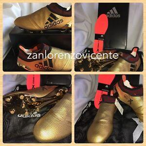 b33c8214a82 Adidas Men s X 17+ Purespeed FG Soccer Cleats Metallic Gold Black ...