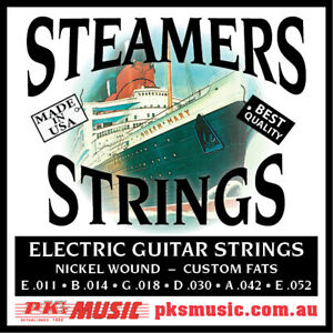 STEAMERS-034-CUSTOM-FATS-034-GAUGE-ELECTRIC-STRINGS-MADE-in-USA-NEW-FREE-POSTAGE