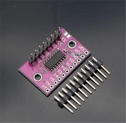 2Pcs 8-Channel 74HC4051 Analog Multiplexer//Demultiplexer New Ic ke