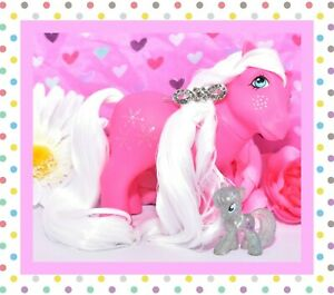 My-Little-Pony-MLP-G1-Vtg-1984-Snowflake-European-UK-Glitter-Symbol-Pink
