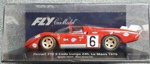 Fly C.72 - Ferrari 512 S Coda Lunga-le Mans 1970-ignazio Giunti-neuf-afficher Le Titre D'origine Frissons Et Douleurs