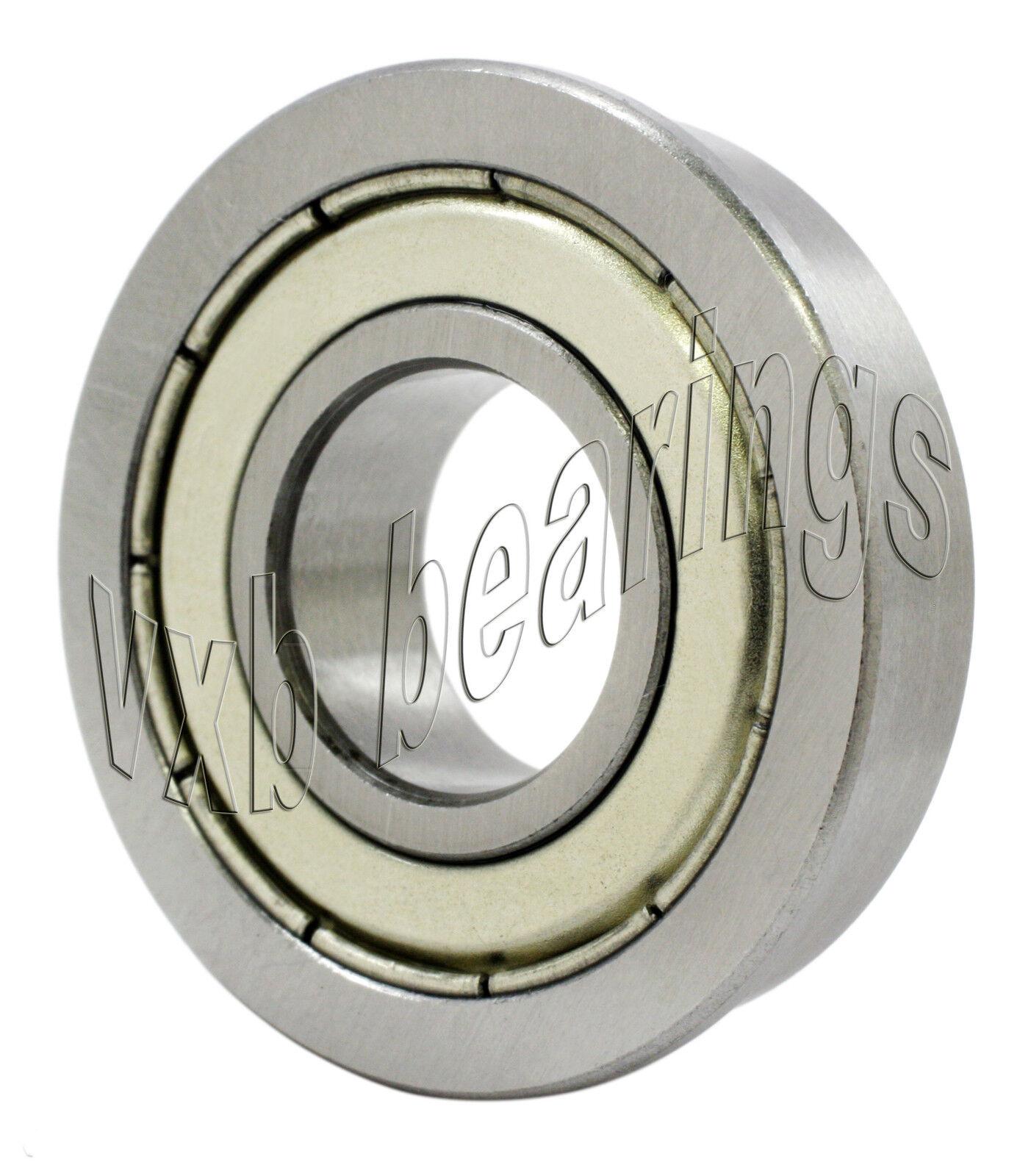 F698-RZ Flanged Bearing 8x19x6 Shielded Ball Bearings