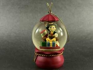 Jimmy-Cricket-Ornament-from-DISNEY-Red-Snow-globe-Colorful-Gifts-Decorations