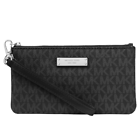 Michael Kors Jet Set Item Signature Medium Wristlet 32s7sjsw2b Black