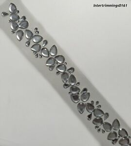 Diamante Cristales etc Tira Autoadhesiva artesanías arte 112798 Gratis P/&P claro