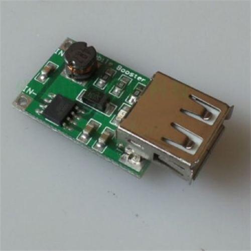 1pcs DC-DC Converter Step Up Module USB Boost Module 2-5V to 5V 1200mA 1.2A New