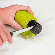 Electric Ceramic Knife Sharpener Stone Kitchen Sharpening System Grindstone