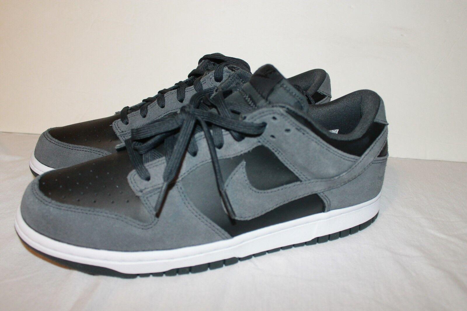 Nike dunk low 904234-004 skateboarding air leder skateboarding 904234-004 anthracite 11,5 ff5cfd