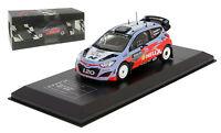 Ixo Hyundai I20 Wrc Sweden Rally 2015 - Thierry Neuville 1/43 Scale