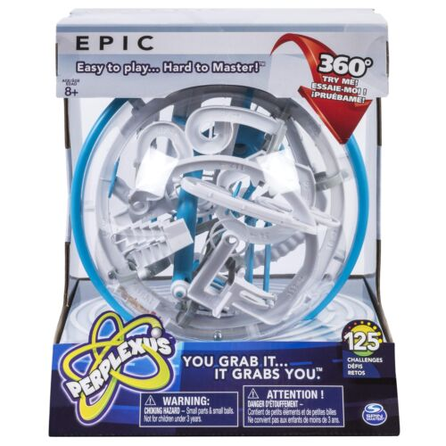 Perplexus Epic Challenging Interactive Maze Game with 125 Obstacles