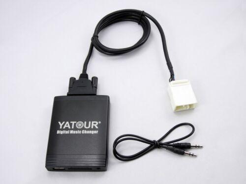 Adaptador USB SD AUX mp3 cambiador adecuado para radio Honda Goldwing gl1800