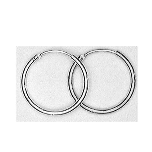 1 Paar Ohrringe Creolen 20 mm groß ca 634 aus 925 Silber