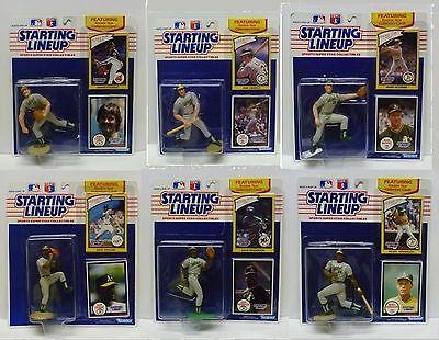 SLU OAKLAND A/'S 1990  RICKEY HENDERSON Sports Figurine Starting Lineup