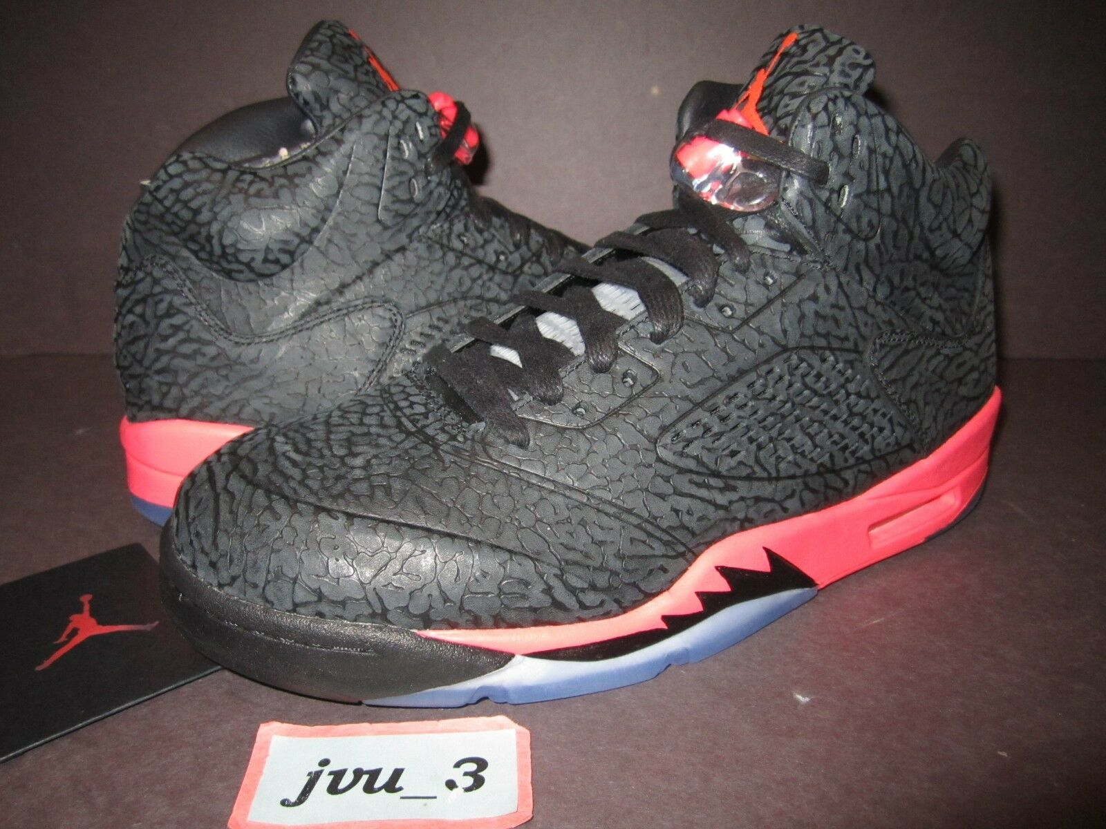 DS NIKE AIR JORDAN 3LAB5 SIZE 10.5 INFRARED ELEPHANT3 5 I bred concord chicago