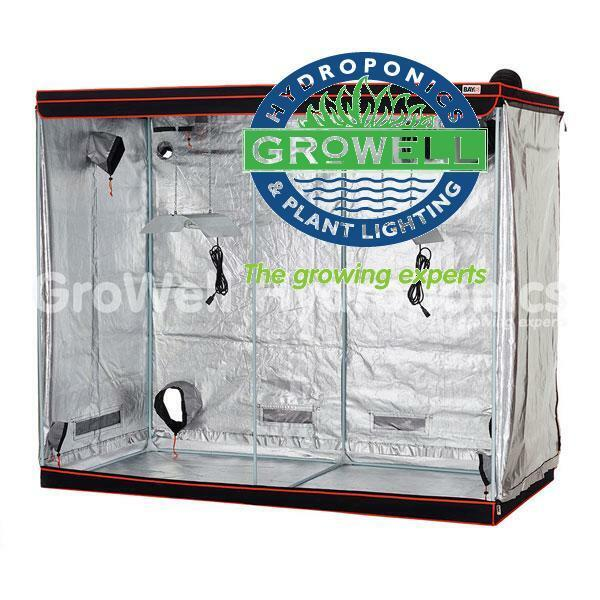 BAY6 XXL GROWING TENT KIT Hydroponics & Seed Starting TENT + DIGITAL LIGHTS + EXTRACTION + MORE