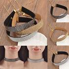 Velvet Full Diamond Crystal Rhinestone Choker Collar Boho Necklace Women Jewelry