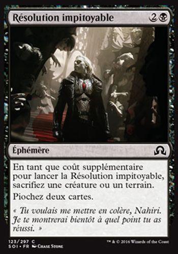 ▼▲▼ 4x Résolution impitoyable SOI #123 FRENCH Merciless Resolve