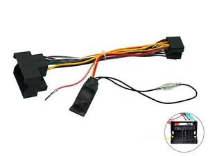 vauxhall corsa c 05 on car stereo wiring iso adaptor with ignition rh ebay co uk vauxhall radio wiring colours vauxhall vivaro stereo wiring diagram