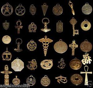 Amulett Der Magie Schutz Abwehr Zauber Stärke Glück Liebe Kraft Mut