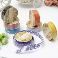 Lace Tape Washi Self Adhesive Label Diary Scrapbooking Sticker Paper Decorating