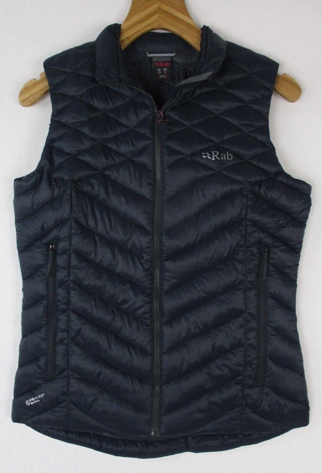 Rab Women's Altus Vest QIO-41 Beluga Steel Size Small