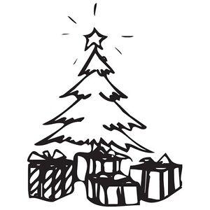 vinilo arbol navidad Detalles De P630 Arbol De Navidad Pegatina Vinilo Sticker Adhesivo Coche Logo Cristal