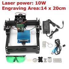 10W Laser Engraver USB DIY Metal Stone Engraving Machine Logo Printer CNC Router