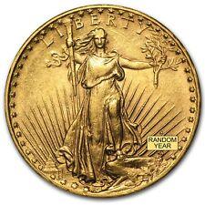 SPECIAL PRICE! $20 Saint-Gaudens Gold Double Eagle (AU) Coin - Random Year