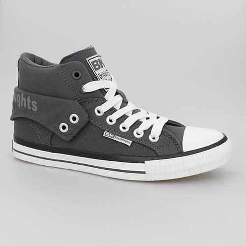 Schuhe Canvas 18 Grey 3702 B41 Dark Knights Bk Roco Grau British E4w1nqR