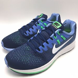 big sale 824fa 60ec7 Details about Nike Air Zoom Structure 20 Women's Running Binary  Blue/White-polar 849577-401