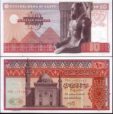 Lower Price with Ägypten/egypt Unc 1972 Banknoten Von 10 Pounds