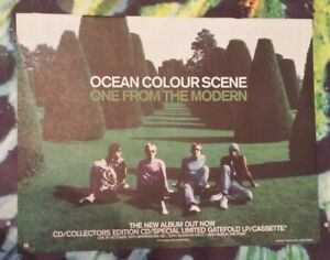 Ocean-colour-scene-One-from-the-1999-press-advert-Full-page-29-x-37-cm-poster