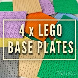 Lego-Base-Plates-16-x-16-Lego-Friends-City-Plates-Boards-Accessories-Job-Lot