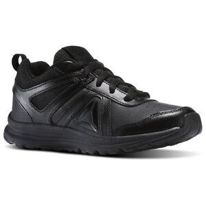 reebok almotio junior trainers noir