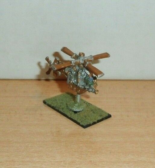 Games Workshop Warmaster Dwarf Gyrocopter PAINTED  C30-75 CITADEL 1999   C