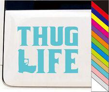 "New 15 Colors  ""THUG LIFE"" Decal JDM Drift Car Windows Bump Funny Vinyl Stickers"