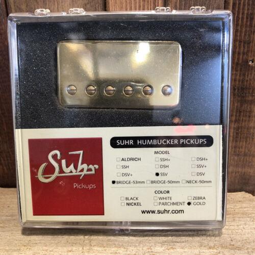 53mm Spacing Gold Cover Bridge Position Suhr SSV Humbucker Guitar Pickup
