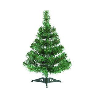Albero Di Natale 50 Cm.Dettagli Su Mini Albero Di Natale 50 Cm Verde Da Tavolo Scrivania O Gadget Regalo Natalizio