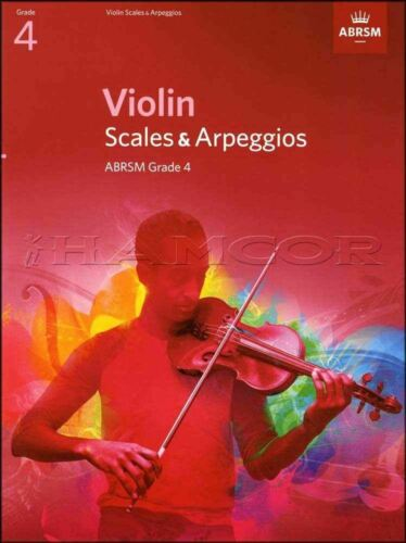 Violin Scales /& Arpeggios ABRSM Grade 4 from 2012 SAME DAY DISPATCH