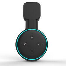 2pcs Black Outlet Wall Mount 3rd Generation Holder Bracket for Amazon Echo Dot