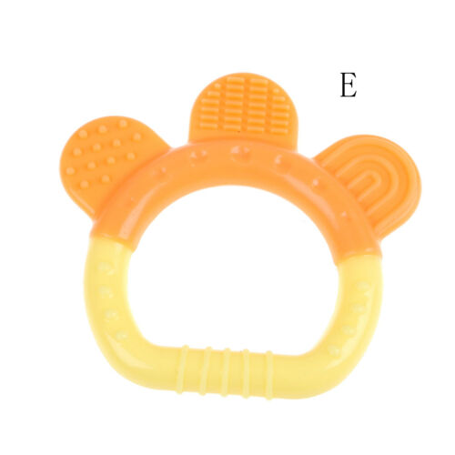 Baby Silicone Fruits Pendant Teether Soother Chew Toy Teething Necklace  jg