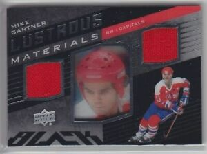 2014-15-UD-BLACK-MIKE-GARTNER-JERSEY-DUAL-Lustrous-Materials-Game-Used-Capitals