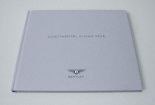SPECIFICATION BOOK SET BENTLEY 2009 CONTINENTAL FLYING SPUR DEALER BROCHURE