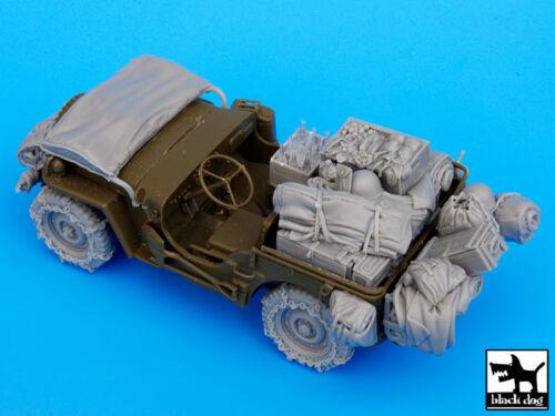 1:35 US Jeep Big Accessories Set T35044 chien noir