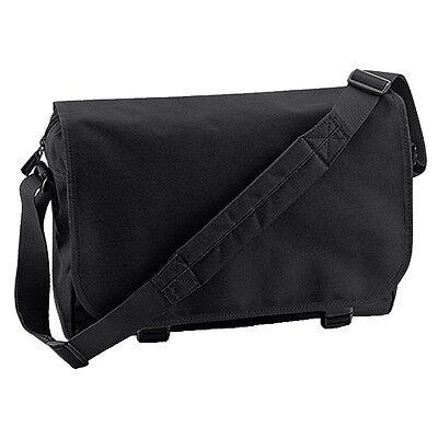 Plain Messenger Bag - Back To School College Retro Unisex Shoulder Laptop Bags