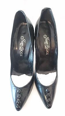 Coraggioso Scarpe Nero - Bottoni -- Juan Shoes -- T.39