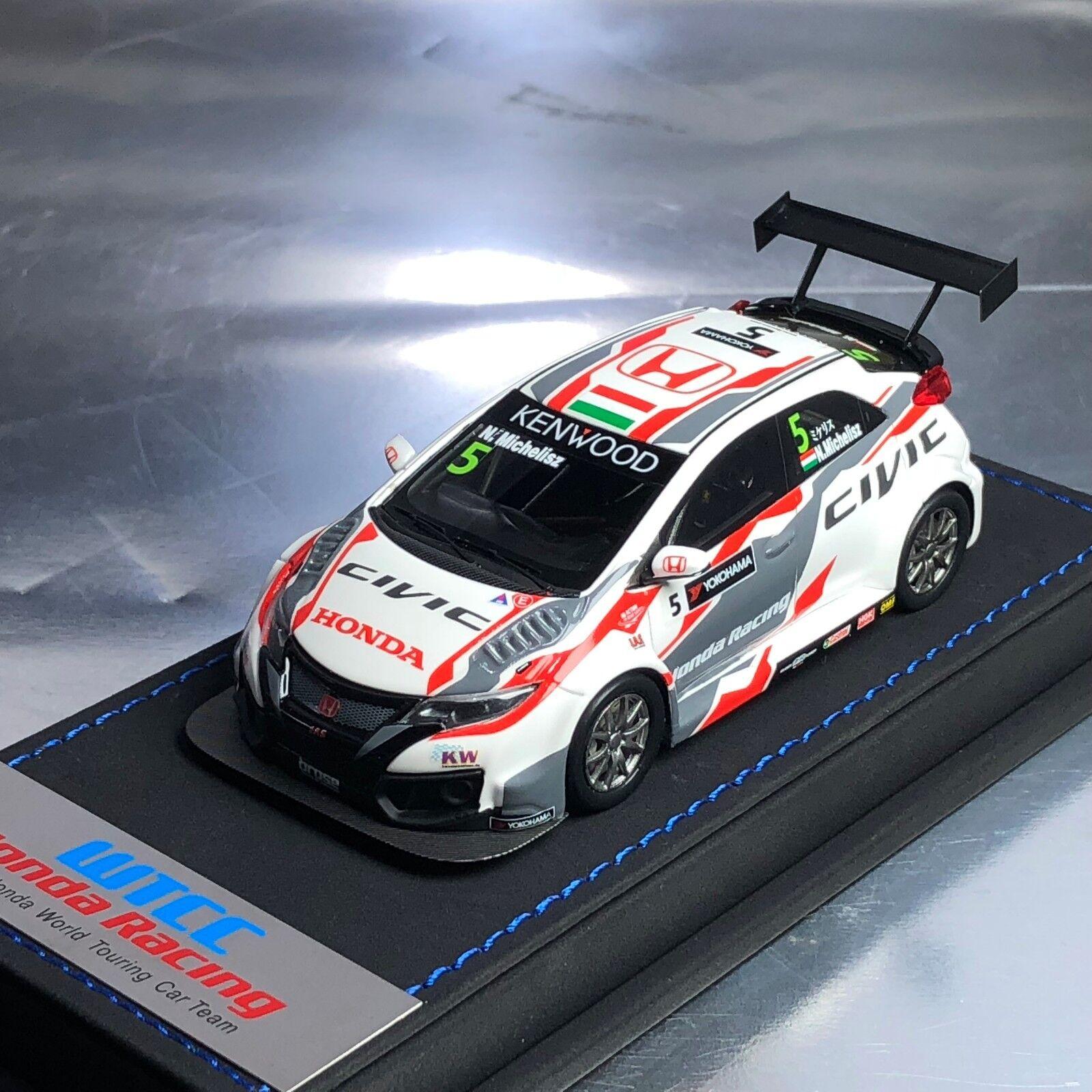Marca de 1 43 Honda Civic Tipo R FK2 WTCC Touring Car Jas Norbert michelisz