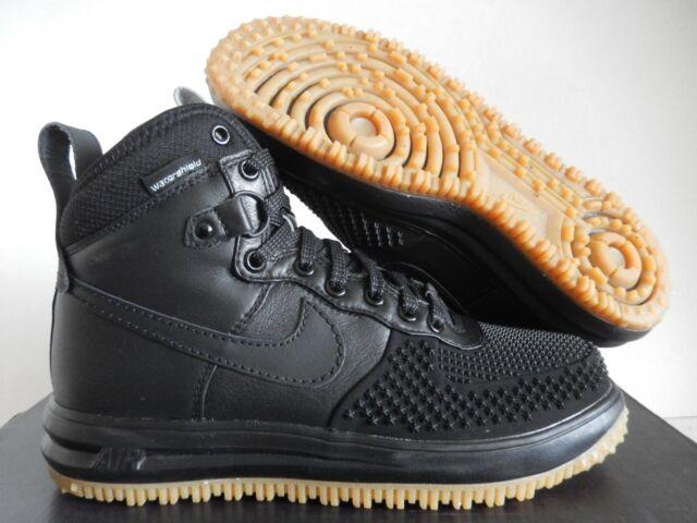 Men's Nike Lunar Air Force 1 Duckboot Black Gum 805899 003 On Sale